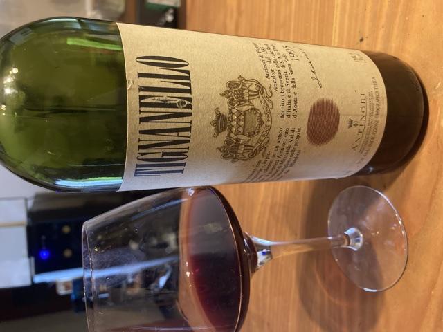 26年後のワイン