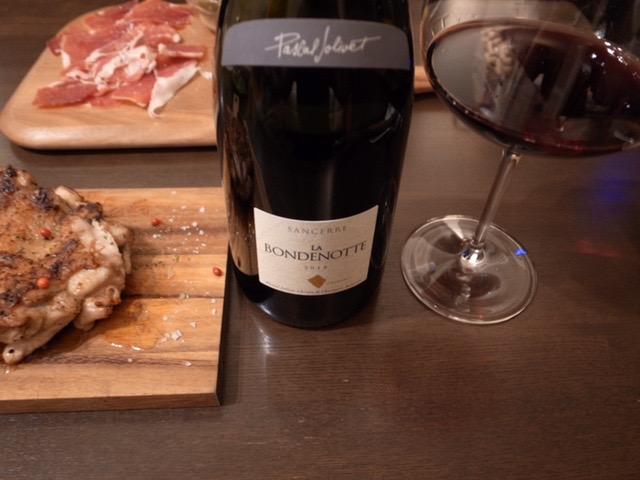 サンセールの赤ワイン